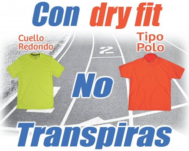 Playeras dry fit