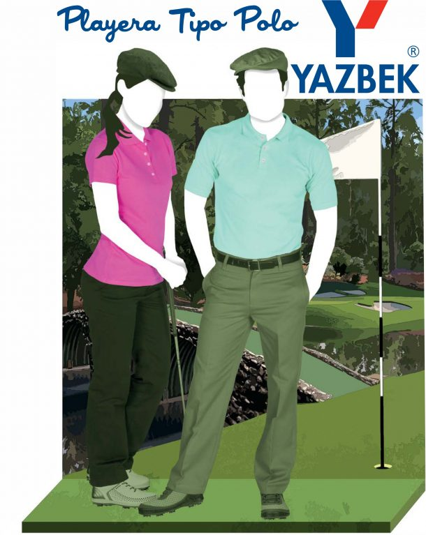 Playeras tipo polo YAZBEK